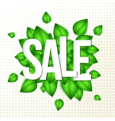 Sale typography background vector image