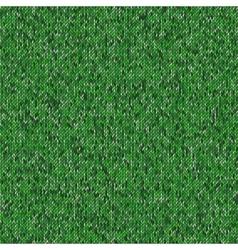 Seamless green knitting pattern Woolen cloth vector