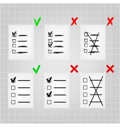 Set ballot and voting rules vector