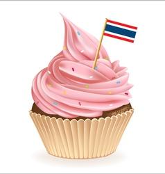 Thai Cupcake vector image