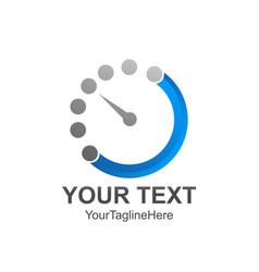 Time left logo design template element vector
