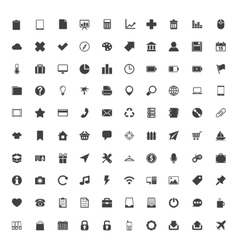 Web Icons Big Set vector