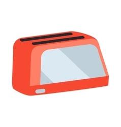 Toaster in flat design vector