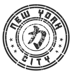 T shirt new york character power force grunge vector