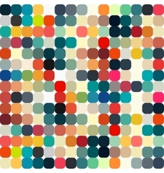 Abstract geometric retro pattern seamless for your vector image