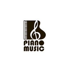 abstract piano image vector image