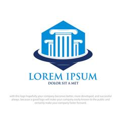 academy logo designs vector image