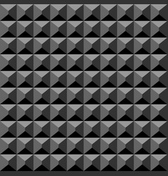 Acoustic foam material black background soft vector