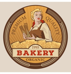 Best bakery vector image