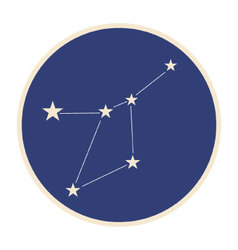 Constellation Cancer vector