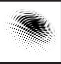 Dot pattern halftone dots design halftone pattern vector