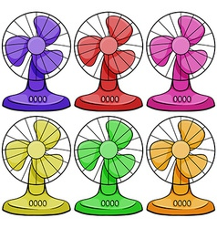 Electric fan vector