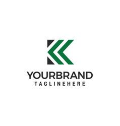 Letter k logo icon design template elements vector