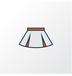Mini colorful outline symbol premium quality vector