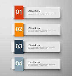 Paper infographic24 vector