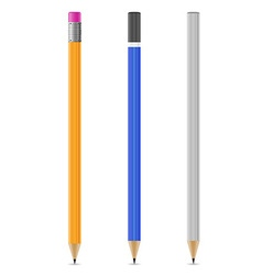 sharpened pencil 07 vector image