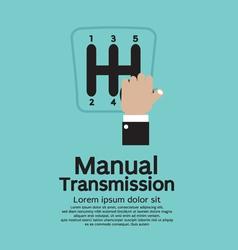 Manual Transmission vector image