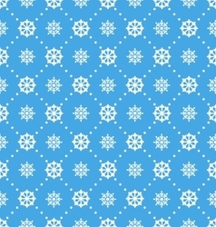 Seamless Wallpaper with Beautiful Snowflakes vector image vector image
