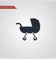 Buggy icon simple vector