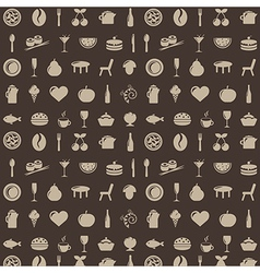 Restaurant Background vector image vector image