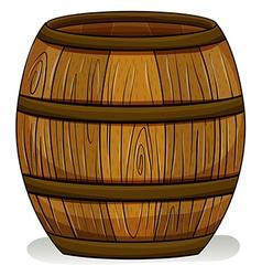 A barrel vector image