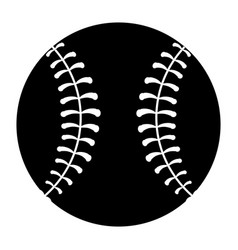 Baseball equipment cartoon vector