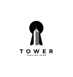 building icon logo design templateproperty vector image
