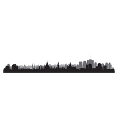canada city skyline ottawa cityscape view travel vector image