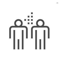 coronavirus disease outbreak icon design 48x48 vector image
