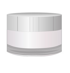 cream bottle vector image