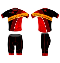 Cycling sports vector