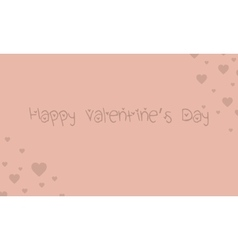 Happy valentine day style backgrounds vector image