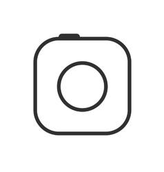 Modern camera icon vector image