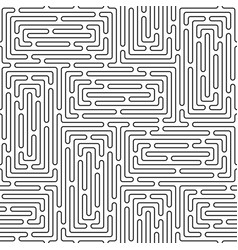 monochrome doodle art deco abstract seamless vector image