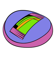 Stadium icon in icon cartoon vector