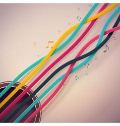 Guitar Strings vector image