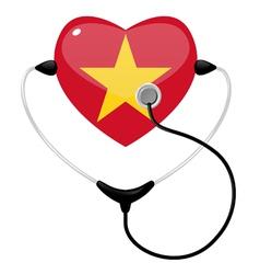 medicine vietnam vector image vector image
