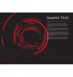 camera red dot vector image