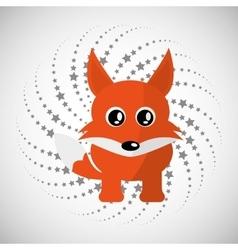 Animal design cartoon icon Isolated vector image