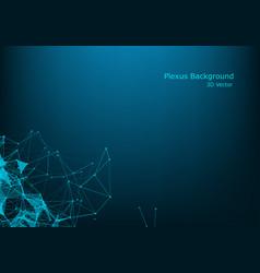data technology background big data visualization vector image