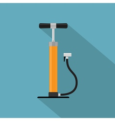 flat pump vector image