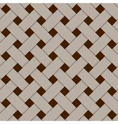 Geometric woven texture - seamless vector image