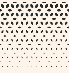 Halftone pattern vertical falling shapes flower vector