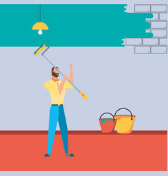 Paint House Painting Contractor Vector Images (over 360)