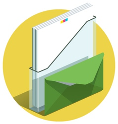 Office docs icon vector image