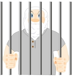Persons in prison vector