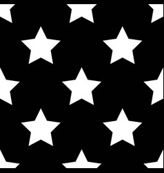 Seamless pattern with stars in a scandinavian vector
