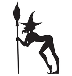 Sexy witch vector