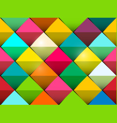 colorful seamless background with colorful tiles vector image