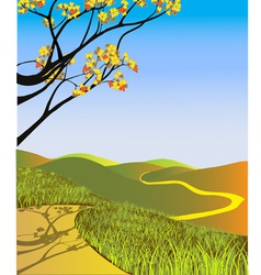 Fall Landscape vector